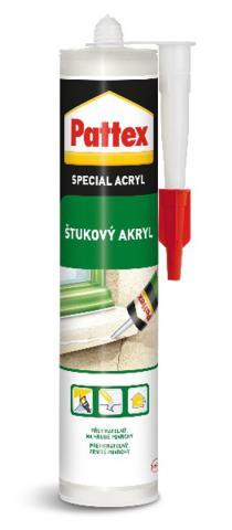 PATTEX Štukový akryl 280ml – bílý