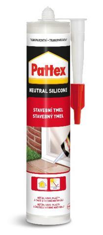 PATTEX Stavební tmel 280ml – transparent