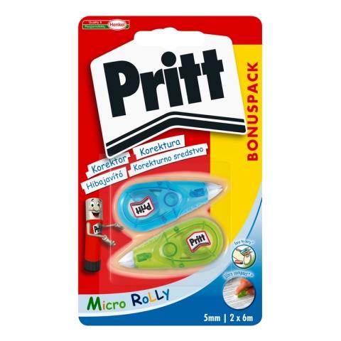 Pritt Micro Rolli 5mmx6m – 2ks blistr