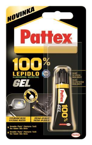 Pattex 100% gel 8g – blistr