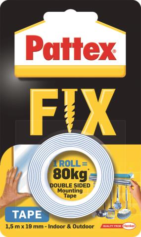 PATTEX – Montážní páska Super fix (do 80kg)