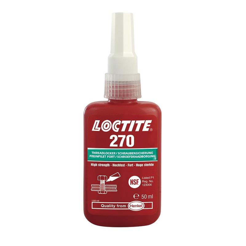 LOCTITE – Zajišťovač šroubů 270 VP/50ml AKCE