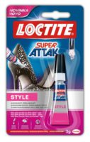 Loctite Super Attak Style glue 3g