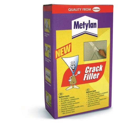 Metylan CRACK FILLER 0,5kg – doprodej