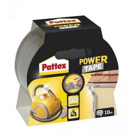 Power Tape – stříbrná 50mm/10m