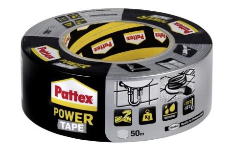 Power Tape – stříbrná 50mm/50m
