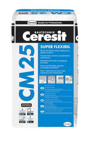 Ceresit CM 25 White Flex 20kg