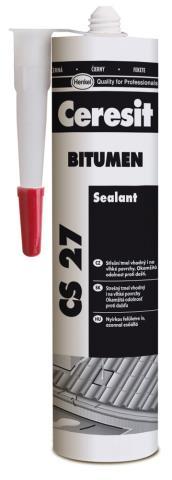 CERESIT CS27 střešní tmel/bitumen BLACK 300ml