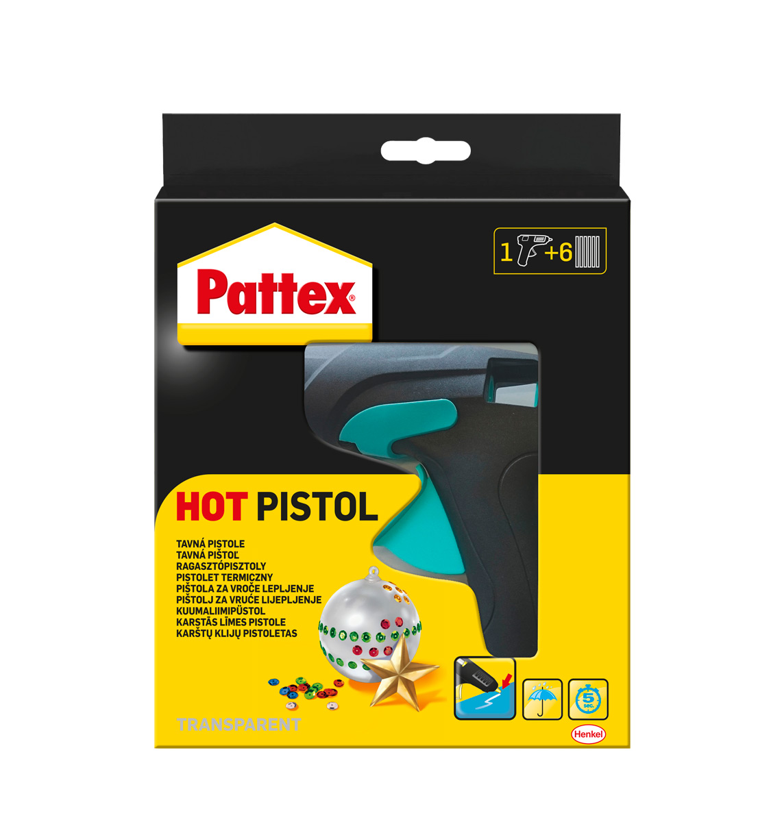 Pattex Hot pistole + (6x20g)