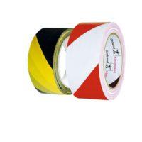 Perdix – Výstr. páska PVC 50x33m žlutočerná -levá