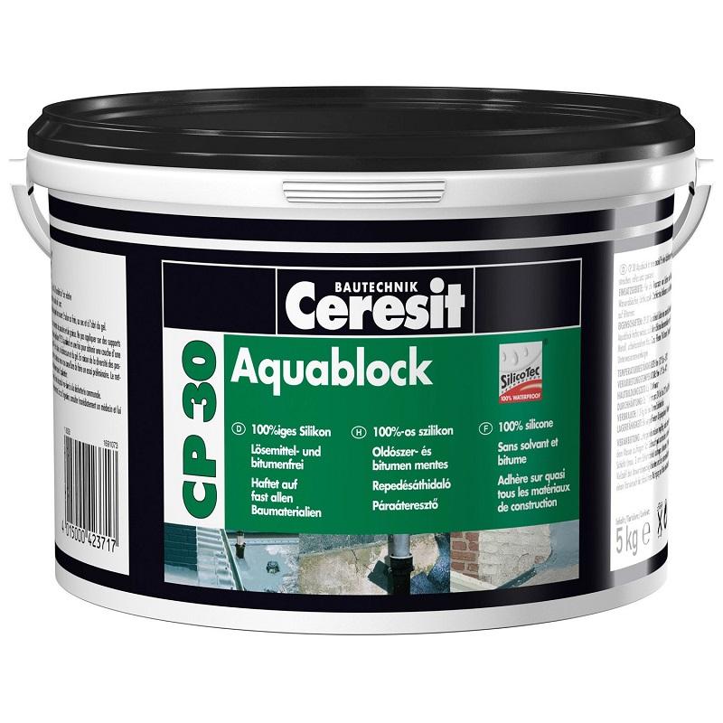 CERESIT CP30 Aquablock šedá 5kg