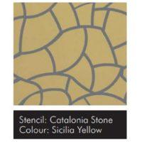 Sam.šablona VISAGE-Catalonia Stone 15ks DOPRODEJ