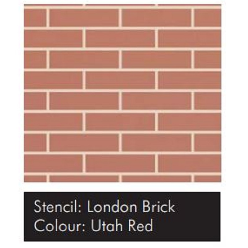 Samolepící šablona VISAGE – London Brick 1ks