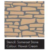 Samolepící šablona VISAGE – Someret Stone 15ks