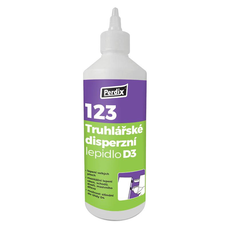PERDIX -123 Truhlářské disperzní lepidlo D3 0,5kg