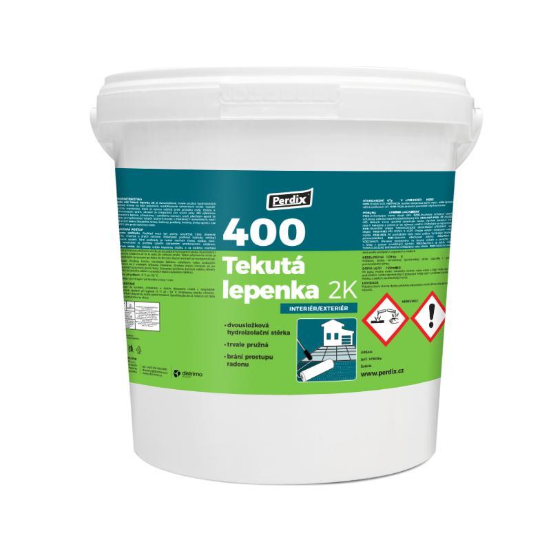 Perdix – 400 Tekutá lepenka 2K 4kg – šedá