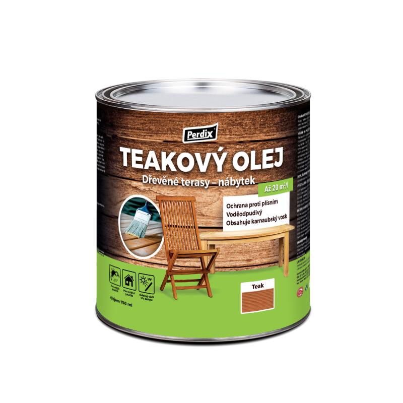 Perdix Teakový olej – teak 750ml