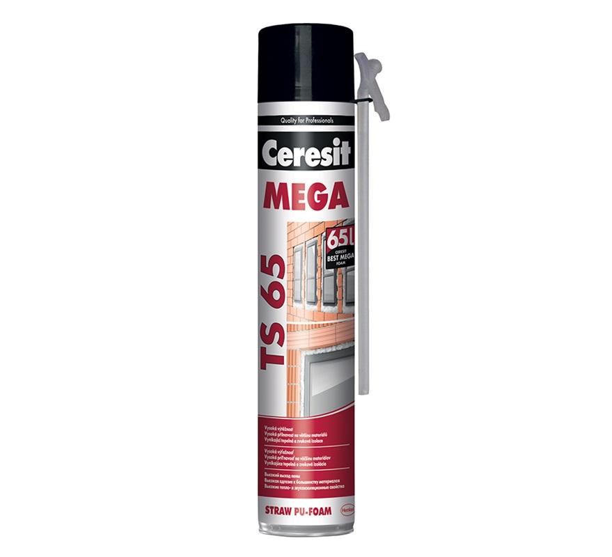 CERESIT TS65 PU pěna MEGA trubičková 800ml