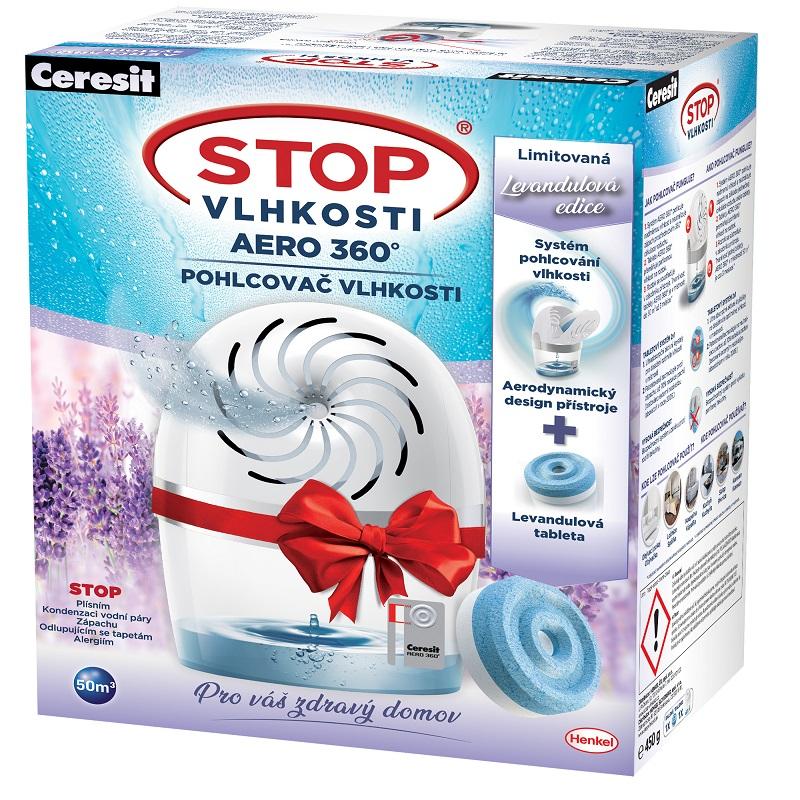 Ceresit Stop vlhkosti AERO přístroj Bílý + tableta