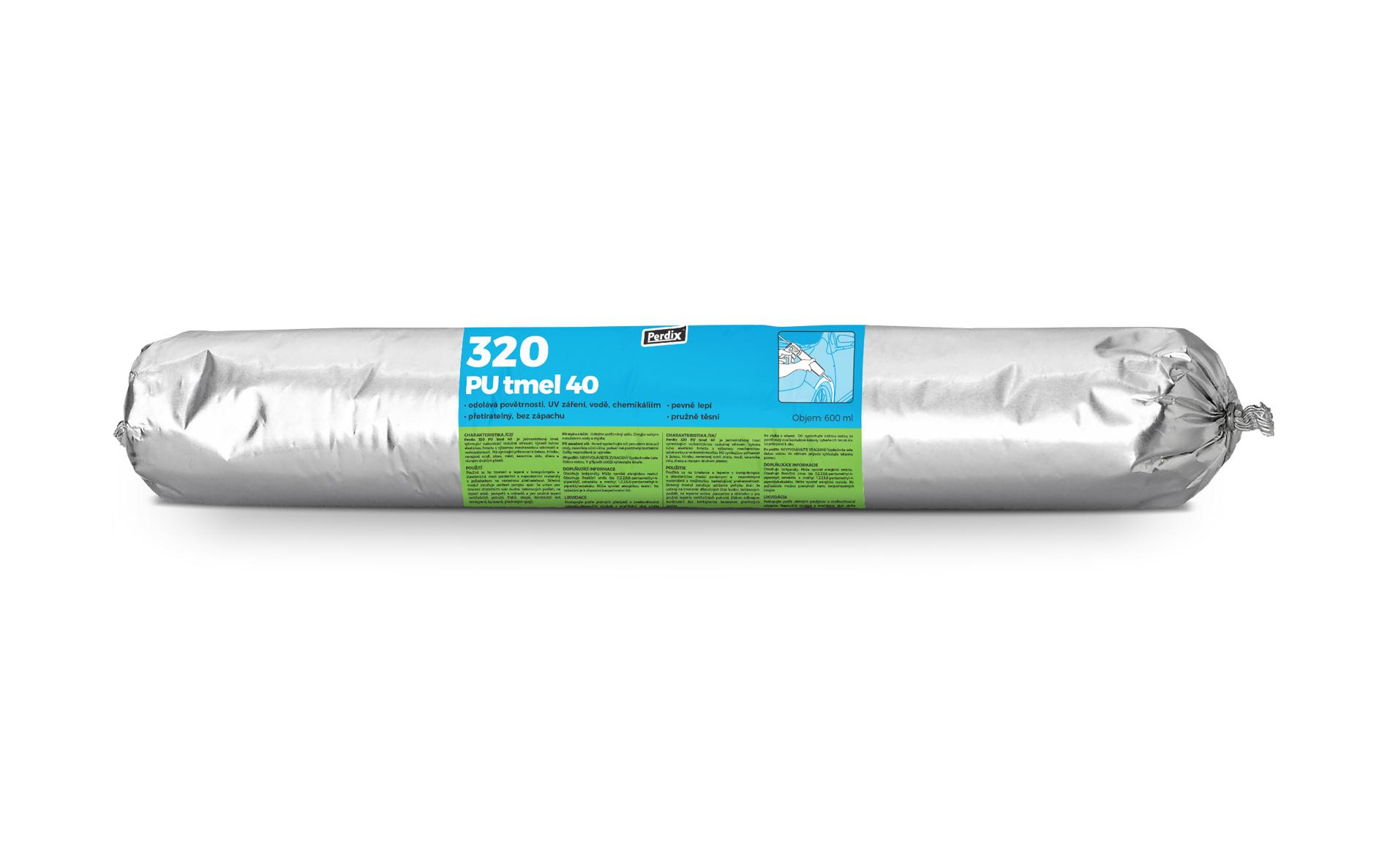 Perdix – 320 PU tmel 40 šedý salám 600ml