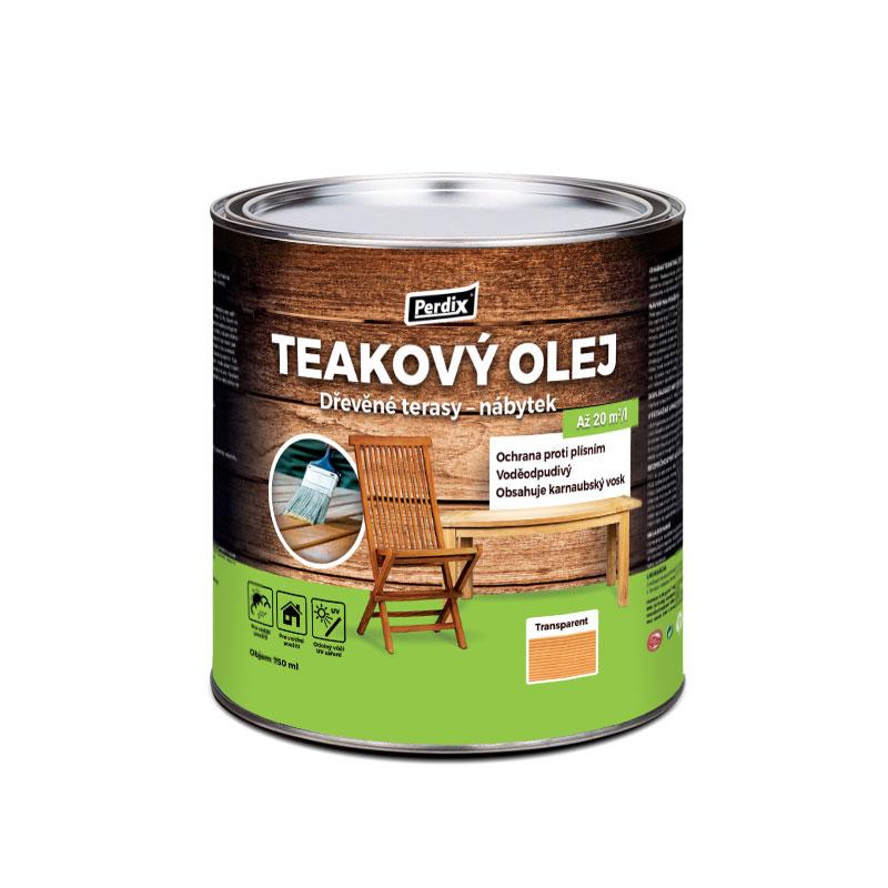 Perdix Teakový olej – transparentní 750ml