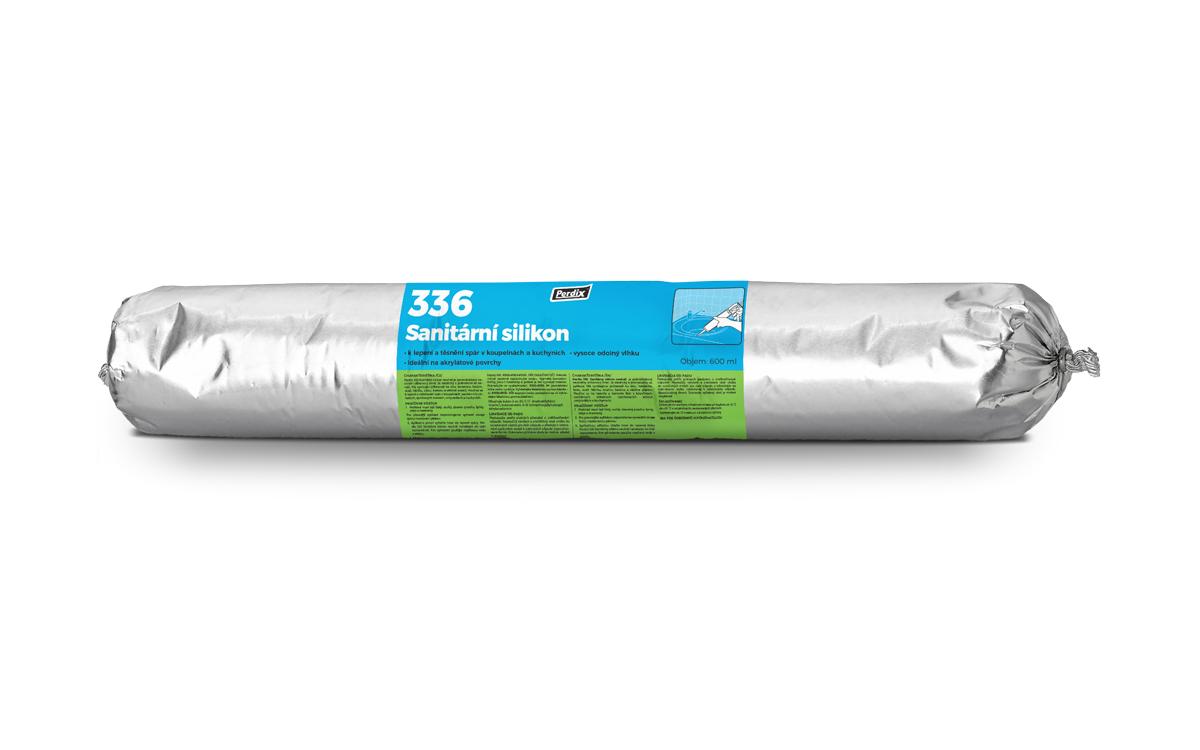 Perdix – 336 Sanitární silikon bílý 600ml