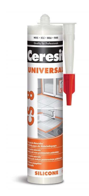 CERESIT CS8 univerzální silikon 280ml transp.