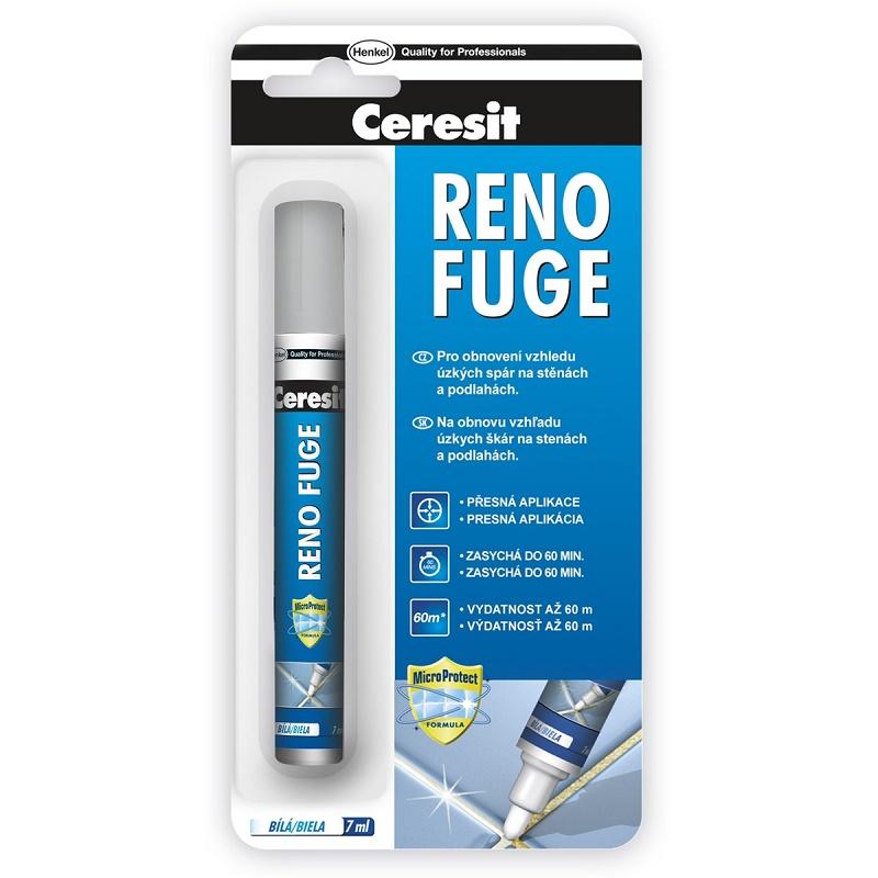 CERESIT Reno fuge obnovovač spár bílý 7ml