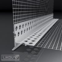 LTDU / 2,5 okenní lišta s okapnicí