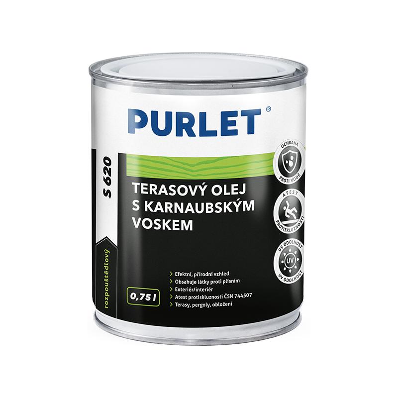 PURLET S620 terasový olej