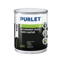 PURLET N660 Ochr. olej na dřevo 100% natur 750ml