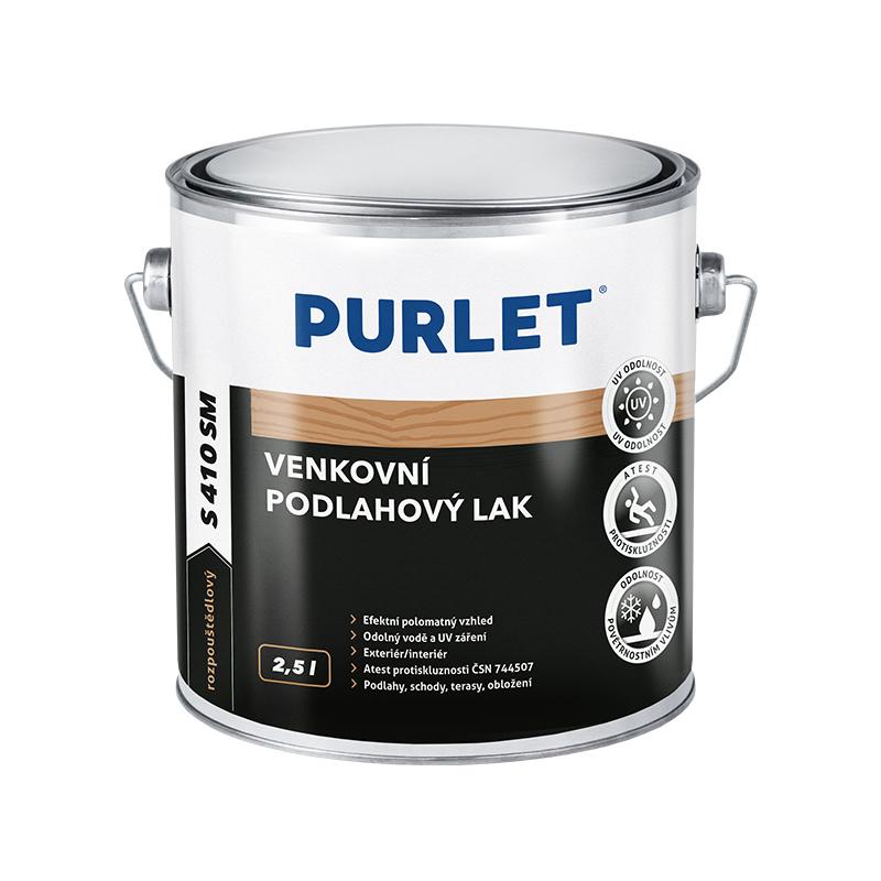 PURLET S410 podlahový lak SM polomat 2,5l