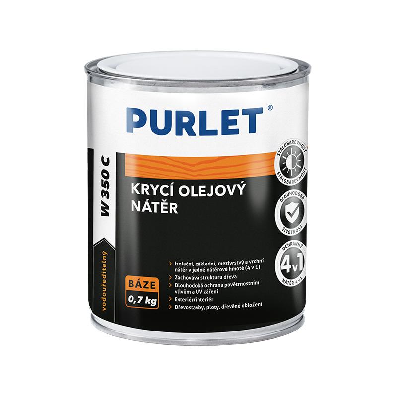 PURLET W350c krycí olejová barva 0,7kg