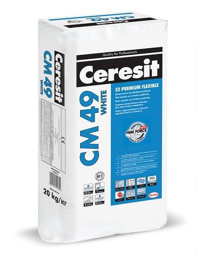 Ceresit CM 49 WHITE Premium Flexible 20kg